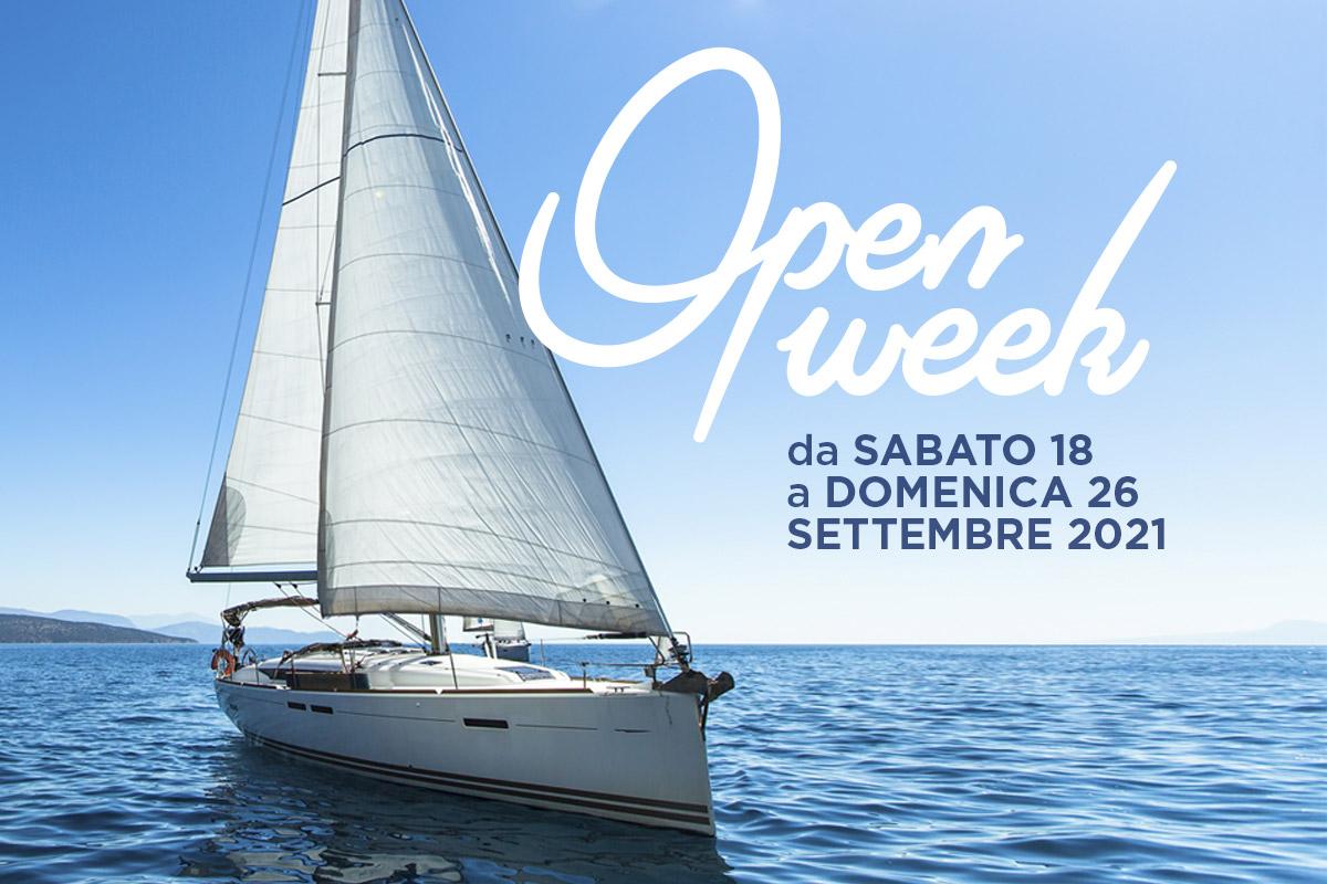 Open Week Settembre 2021